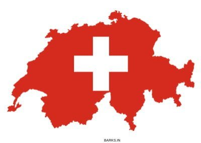 Swiss Map with coat of arms